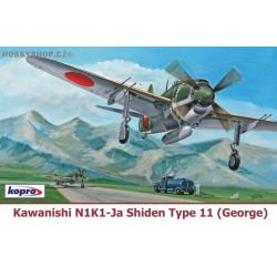 Kawanishi N1K1-Ja Shiden Type 11 - 1/72 kit
