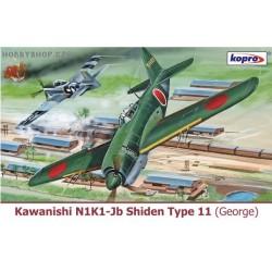 Kawanishi N1K1-Jb Shiden Type 11 - 1/72 kit