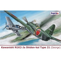 Kawanishi N1K2-Ja Shiden-kai Type 21 - 1/72 kit