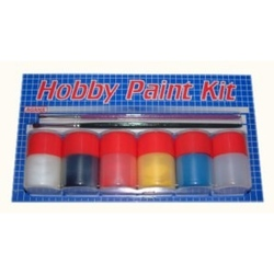 Hobby Paint Kit Mat - sada lihových barev