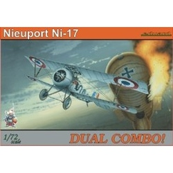 Nieuport Ni-17 DUAL COMBO - 1/72 kit