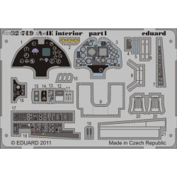 A-4E interior S.A. - 1/32 Painted PE set