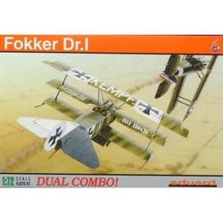 Fokker Dr.I DUAL COMBO - 1/72 kit