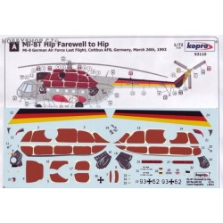 Mi-8T Hip Farewell to Hip - 1/72 decal
