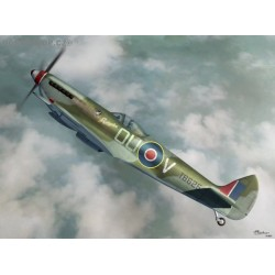 Supermarine Spitfire LF Mk.XVIe bubble top - 1/72 kit