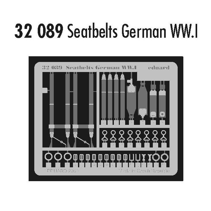 Seatbelts German WWI