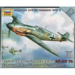Messerschmitt Bf 109F-2 - 1/144 kit