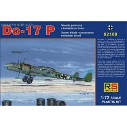 Dornier Do 17P - 1/72 kit