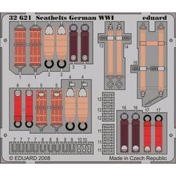 Seatbelts German WWI - Painted - 1/32 PE set