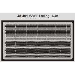 WWI Lacing - 1/48 PE set
