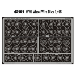 WWI Wheel Wire Discs - 1/48 PE set