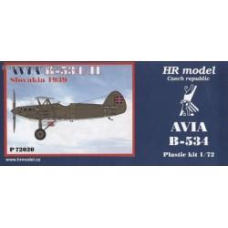 Avia B-534/II Slovakia 1939 - 1/72 kit