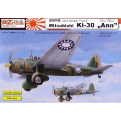 Mitsubishi Ki-30 Ann over China - 1/72 kit