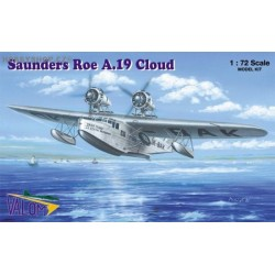 Saunders Roe A.19 Cloud Czech & RAF - 1/72 kit
