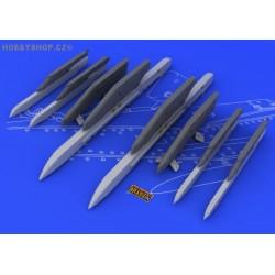 Su-25K wing pylons - 1/48 update set