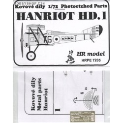 Hanriot HD.1/2 - 1/72 PE set