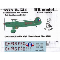 Avia B-534 CLH - 1/48 decal