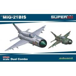 MiG-21BIS DUAL COMBO - 1/144 kit