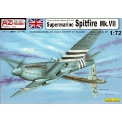 Spitfire Mk.VII - 1/72 kit