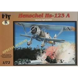 Henschel Hs 123A Special Scheme - 1/72 kit