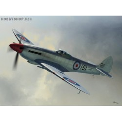 Supermarine Seafire Mk.XVII - 1/72 kit