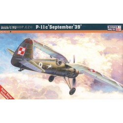 PZL P-11c September '39 - 1/72 kit