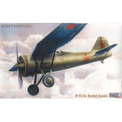 PZL P-7a in Soviet hands - 1/72 kit