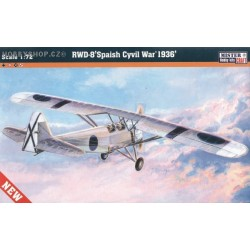 RWD-8 Spanish War 1936 - 1/72 kit