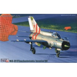 MiG-21S Czechoslovak Invasion 1968 - 1/72 kit
