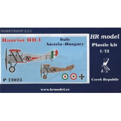 Hanriot HD.1 Italy, A-H - 1/72 kit