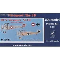 Nieuport Nie.10 Russia, Germany - 1/72 kit