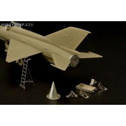 MiG-21 maintenance accessories - 1/144 PE set