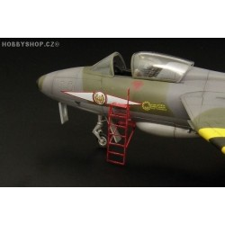 Step ladders for Hunter and Harrier - 1/48 PE set
